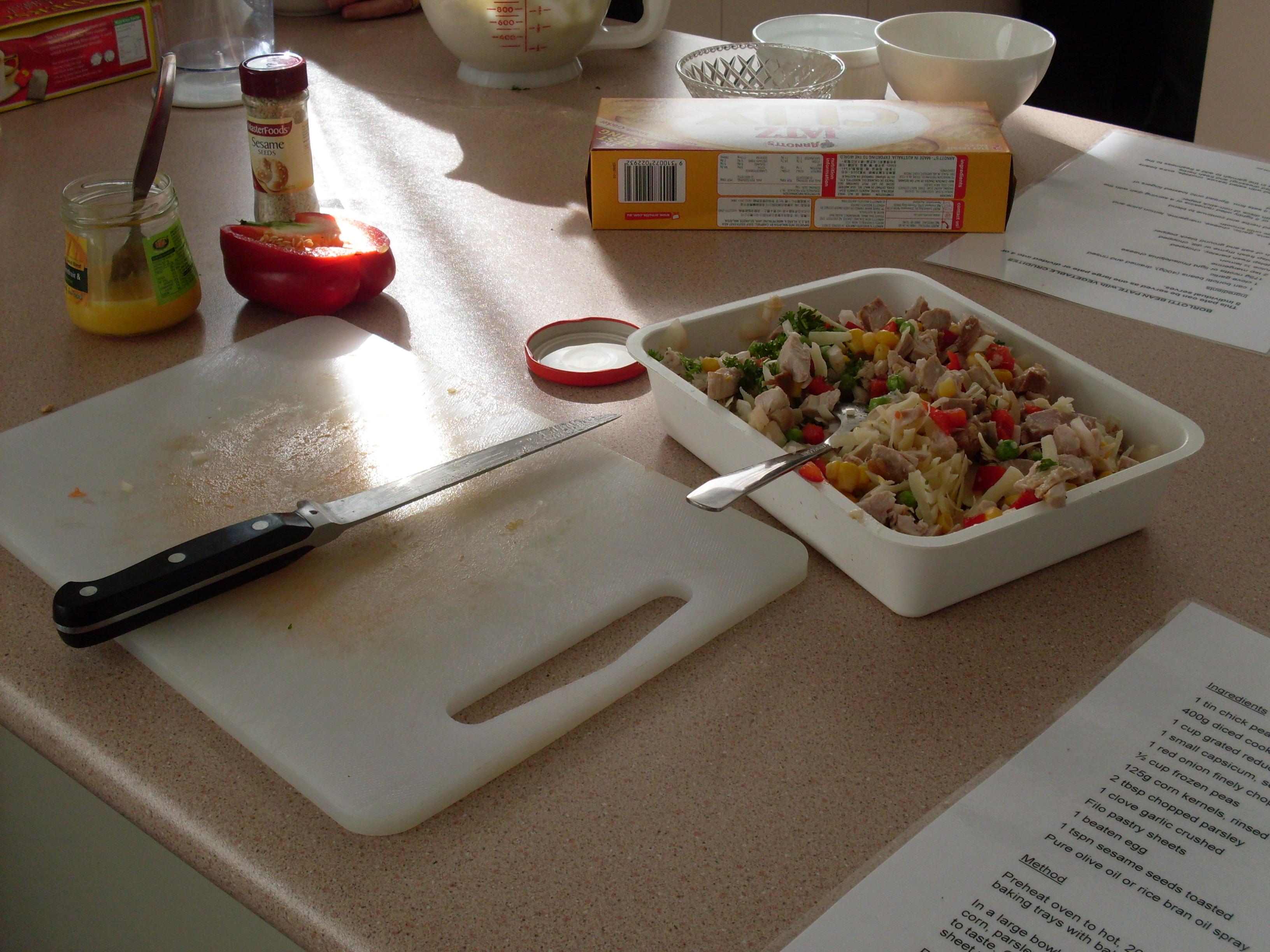 Chicken mixture